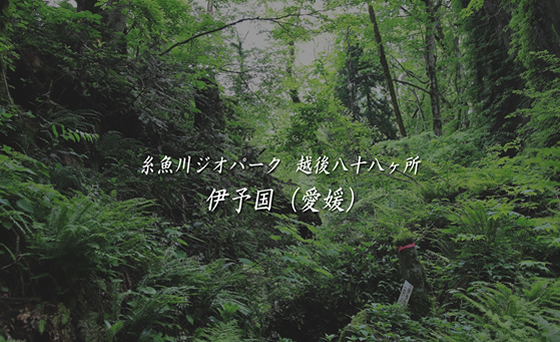 糸魚川ジオパーク 越後八十八ヶ所 / 伊与国(愛媛)